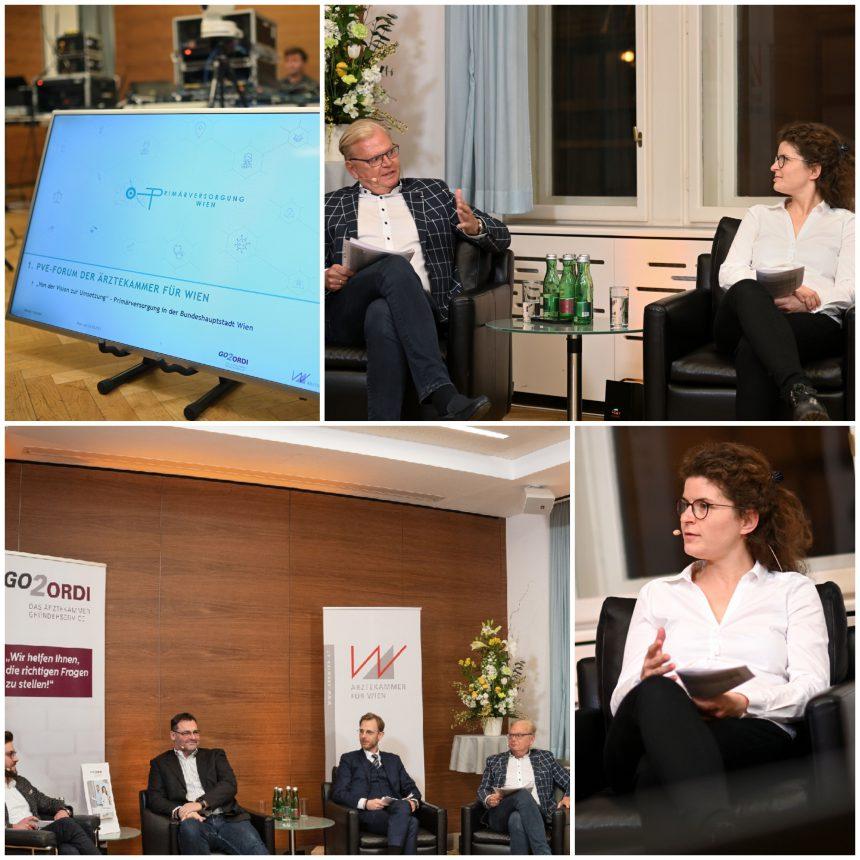 PVE Meidling zu Gast im Online Forum